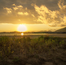 Atardecer en Laredo. Un proyecto de Fotografía de César Angulo González         - 08.11.2016