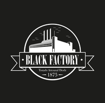 Black Factory Packaging. A Design, Br, ing, Identit, Graphic Design, Packaging, Product Design, and Naming project by Ion Richard         - 19.09.2014