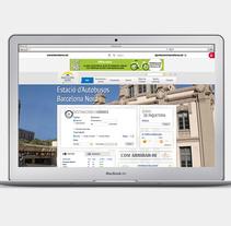 Web site: Barcelona Nord. Un proyecto de Diseño Web de Bonaria Staffetta         - 05.01.2016