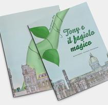 Libro: Tony el il fagiolo magico. Un proyecto de Ilustración de Bonaria Staffetta         - 31.07.2016