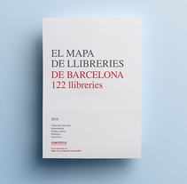 El mapa de llibreries de Barcelona. A Editorial Design, and Graphic Design project by Paca  - 09-11-2016