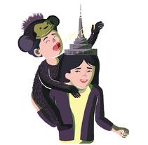 Postales. Un proyecto de Ilustración y Diseño editorial de AndreA Lucio - 14-11-2013