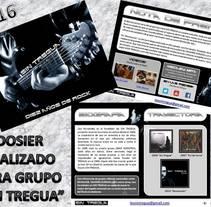 SERVICIO REDACCIÓN DISTRITO UVE - DOSIER PRENSA. A Music, Audio, and Writing project by Vane Balón - 17-05-2016