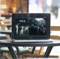 Idea web noticias de videojuegos. Um projeto de UI / UX, Design gráfico e Web design de Alejandro Gonzalez Barrios         - 20.11.2016