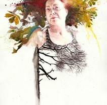 Fall. Un proyecto de Ilustración y Bellas Artes de Mentiradeloro Esther Cuesta - 21-11-2016