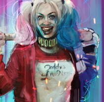 Harley Quinn / Lucky you. A Comic, and Film project by Ismael Alabado Rodriguez - Nov 23 2016 12:00 AM