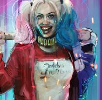 Harley Quinn / Lucky you. Un proyecto de Comic y Cine de Ismael Alabado Rodriguez - Miércoles, 23 de noviembre de 2016 00:00:00 +0100