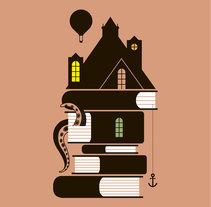 Feria del libro infantil y juvenil. Un proyecto de Ilustración, Diseño editorial y Diseño gráfico de Juan Jareño  - 28-11-2016