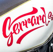 Gerrard St.. Un proyecto de Caligrafía de Miguel Ferrera García - 29-11-2016