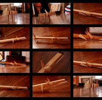 PUCHUS. PERRO ARTICULADO.. Un proyecto de Diseño, Diseño de personajes, Diseño industrial, Escultura y Diseño de juguetes de David Lodeiro Paz         - 02.12.2016
