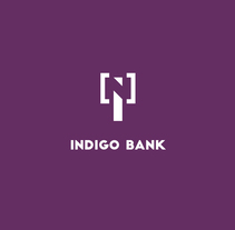 Indigo Bank - Branding. A Design, Br, ing, Identit, and Graphic Design project by Sergio Varez - Dec 13 2016 12:00 AM
