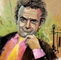 40º aniversario_ Diario El País. Un proyecto de Ilustración, Diseño editorial, Eventos y Collage de Víctor Escandell - 16-12-2016