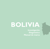 Proyecto Bolivia. Um projeto de Design gráfico de Jennifer Muñoz - 17-12-2016