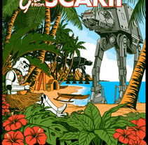 Greetings from Scarif.. A Design&Illustration project by JCMaziu         - 19.11.2016