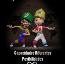 Gala Premios Accesibles 2016. Um projeto de 3D, Animação e Artes plásticas de Jorge  Poveda Garcia - 20-12-2016