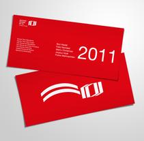 Concurs disseny felicitació nadal ICCIC Nadal 2011. A Design project by Marc Vidiella - 30-11-2011