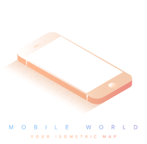 Mobile World. A Design, Illustration, Graphic Design, and Street Art project by Victor Belinatti - 27-12-2016