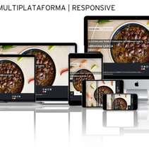 Sitio Web | RESPONSIVE: www.luzdelunarestaurante.com. Un proyecto de Diseño, Publicidad, Consultoría creativa, Marketing, Diseño Web, Desarrollo Web y Social Media de Eduardo García Indurria - 29-10-2016