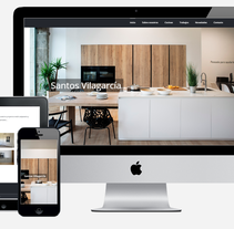 Santos Cocinas | Web corporativa. Um projeto de Desenvolvimento Web de Javier Trillo Fontán         - 31.10.2016