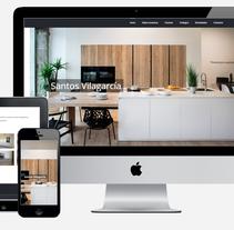 Santos Cocinas | Web corporativa. A Web Development project by Javier Trillo Fontán         - 31.10.2016