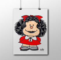 Póster de MAFALDA. A Design, Illustration, and Graphic Design project by Ana S. Dullius         - 14.07.2016
