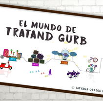 EL MUNDO DE TATRAND GURB_Motion Graphics . A Motion Graphics project by Tatyana Ortega Catalá         - 10.01.2017