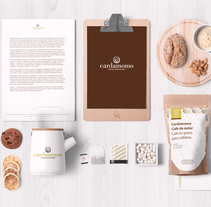 CARDAMOMO-Cocina Vegetariana. A Design, Art Direction, Br, ing, Identit, Cooking, Graphic Design, Information Design, Marketing, Packaging, Paper craft, and Naming project by Raquel Moya Escribano         - 10.05.2015