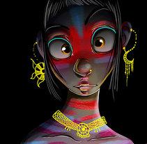 Onix. Un proyecto de Ilustración y Diseño de personajes de Venisa Del Aguila - 10-01-2017