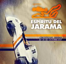 Poster Espirítu del Jarama . Un proyecto de Diseño, Fotografía, Dirección de arte, Br, ing e Identidad, Diseño gráfico, Post-producción y Collage de Javier Gómez Ferrero - 11-01-2017