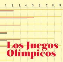 Infografía sobre Los Juegos Olímpicos. Um projeto de Design de Laura Rodríguez García         - 11.01.2017
