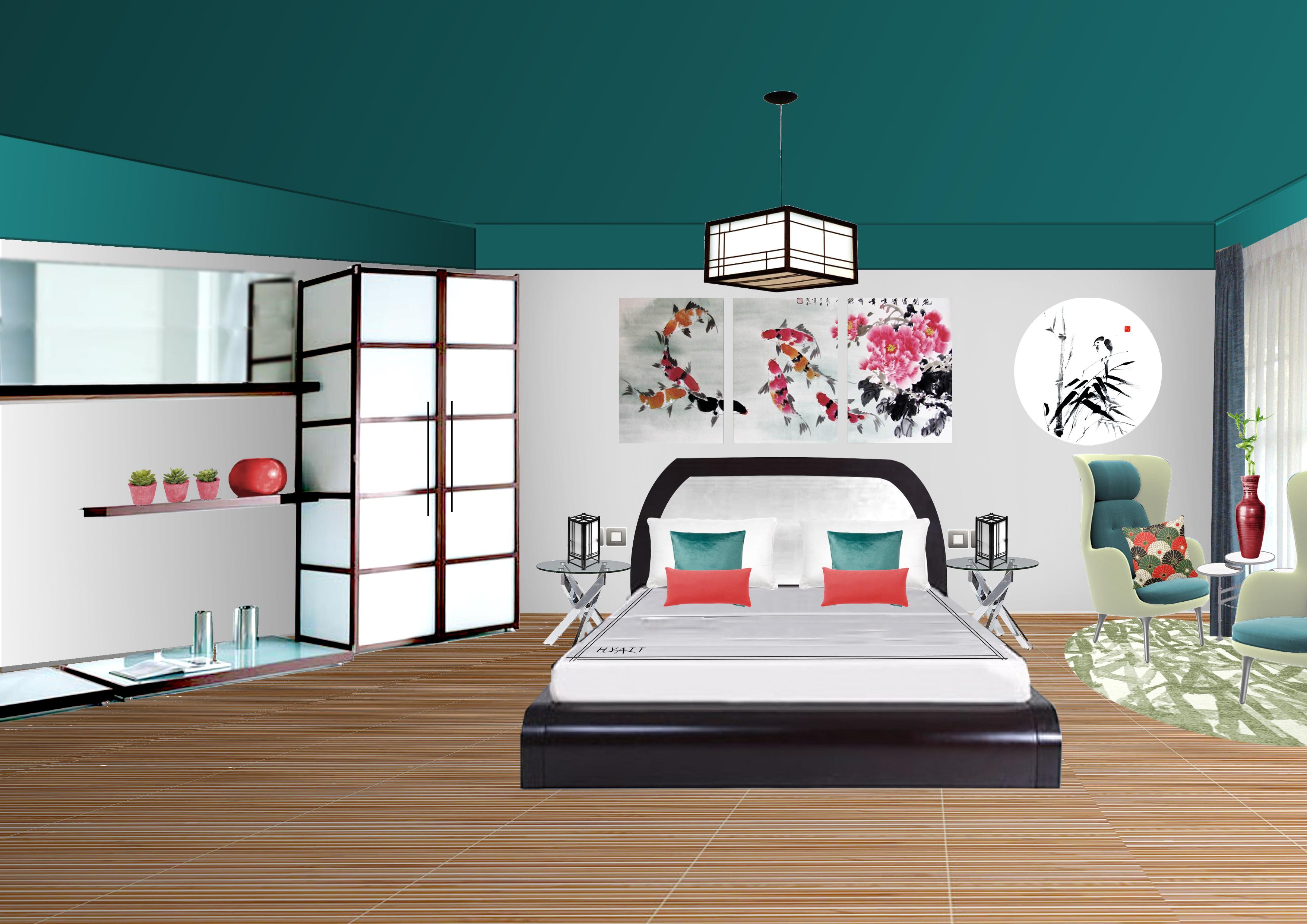 Dise o de habitaciones domestika for Diseno 3d habitaciones