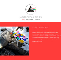 Antropomuebles. A Graphic Design, and Web Design project by Diana Creativa - 19-12-2016