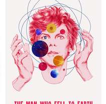 The man who fell to Earth. A Design&Illustration project by Marta Orse         - 30.09.2016