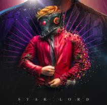 Star Lord / Vk17. Un proyecto de Publicidad, Dirección de arte y Diseño gráfico de Vikö Sviäs - 27-01-2017