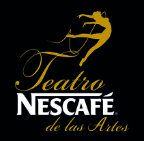 Teatro NESCAFE  logo+ Brand. A Art Direction project by comics26         - 01.02.2017