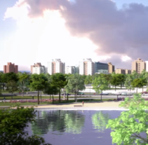 Proyecto Urbanistico en 3d. A 3D, Architecture, Information Architecture, and Video project by Sebastián García         - 08.08.2013