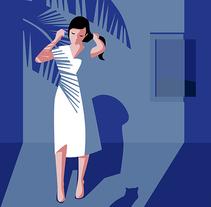 Ilustración Chicas. Um projeto de Ilustração de Viuleta crespo         - 09.02.2017