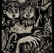 La Cripta IV Canibalismo (fanzine). Um projeto de Ilustração de Isaac López Virgili (ISAC)         - 15.02.2017