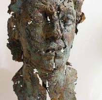 Escultura de bronce. Proceso. A Sculpture project by Gil Gijón         - 19.02.2014