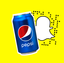 Pepsi Snapstagram. A Illustration, and Animation project by Sociedad Fantasma         - 20.02.2017