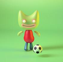 Mascota. A 3D, and Graphic Design project by Ferran  Molina Ventura - 20-02-2017