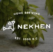 Nekhen Craft Beer. Un proyecto de UI / UX, Dirección de arte, Br, ing e Identidad y Diseño gráfico de Pablo Chico Zamanillo - 21-02-2017