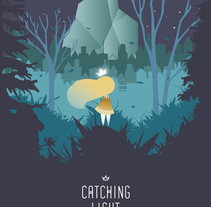 diseño de videojuegos: Catching Light. A Design, Animation, Br, ing, Identit, Character Design, Game Design, Multimedia, and Web Development project by Teresa Ortiz | Diseñadora gráfica         - 09.05.2016