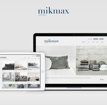 Ecommerce Mikmax. Um projeto de Desenvolvimento Web de Federico Crivellaro - 19-02-2017