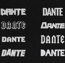 DANTE rockband. A Art Direction, Br, ing, Identit, Graphic Design, Web Design, and Web Development project by Montenegro Creative Studio          - 01.03.2017