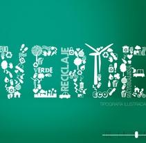Verde . Um projeto de Ilustração e Design gráfico de MªAngeles de la Rosa González - 09-03-2017
