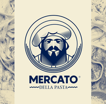 MERCATO DELLA PASTA. A Art Direction, Br, ing, Identit, and Graphic Design project by Jhonny  Núñez - 13-03-2017