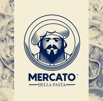 MERCATO DELLA PASTA. Un proyecto de Dirección de arte, Br, ing e Identidad y Diseño gráfico de Jhonny  Núñez - 13-03-2017