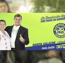 Campaña En Ecuador para Jóvenes de Pichincha. Um projeto de Mídias Sociais de Roberto  García-Patrón García-Fraile - 13-03-2014