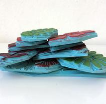 Estampación textil. Um projeto de Design, Ilustração, Artesanato, Design gráfico e Pintura de maria lluveras serra         - 09.10.2017